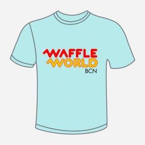 camiseta waffle world