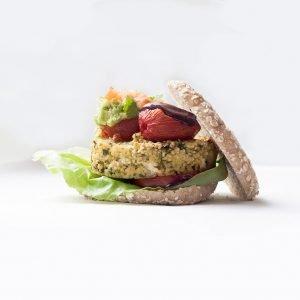 hamburguesa de mijo