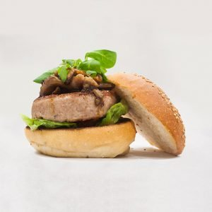 hamburguesa de secreto