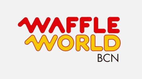 logo waffle world portada